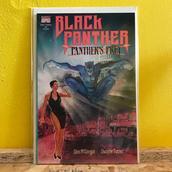 Marvel - Black Panther: Panther's Prey (1991) - Comics - (3/4)