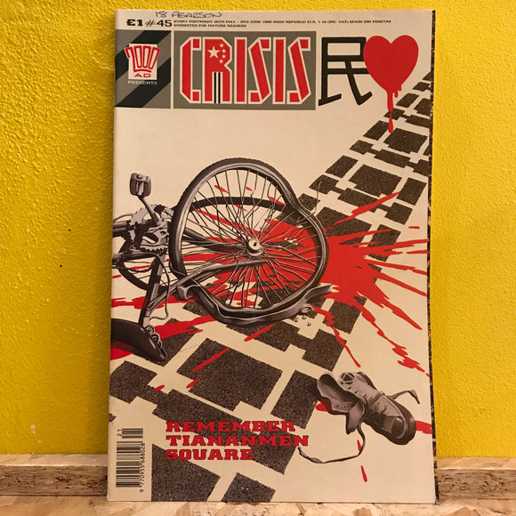 2000AD Presents: Crisis - UK Fortnightly Comic - (Issue 45) - independent