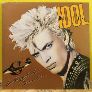 Billy Idol - Whiplash Smile - LP - new wave