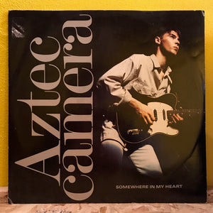 "Aztec Camera - Somwhere In My Heart - 12"" - synth pop"