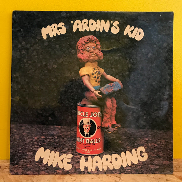 Mike Harding (2) ‎– Mrs 'Ardin's Kid - LP - folk