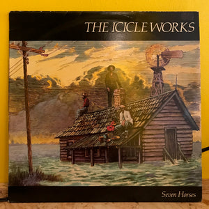 "The Icicle Works - Seven Horses - 12"" - indie"