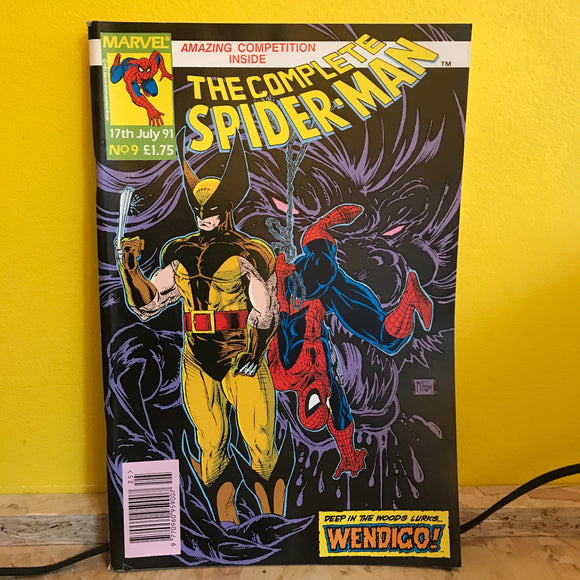 Marvel UK - The Complete Spider Man (1990) - Monthly (Issue 9) - comic