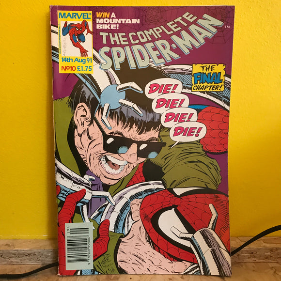 Marvel UK - The Complete Spider Man (1990) - Monthly (Issue 10) - comic