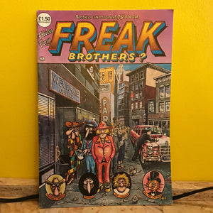 Rip Off Press - Fabulous Furry Freak Brothers - (Issue 4) - comic