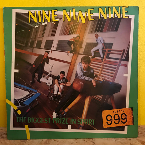 Nine Nine Nine - The Biggest Prize In Sport - LP - punk