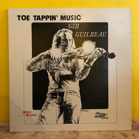Gib Guilbeau - Toe Tappin' Music - LP - country rock