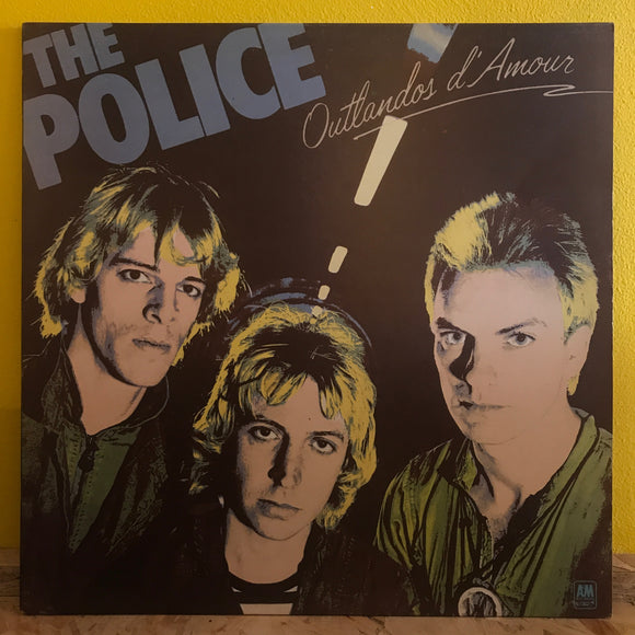The Police - Outlandos d'Amour - LP - new wave