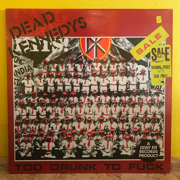 Dead Kennedys - To Drunk To Fuck - 12