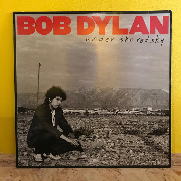 Bob Dylan - Under the Red Sky - LP - folk rock