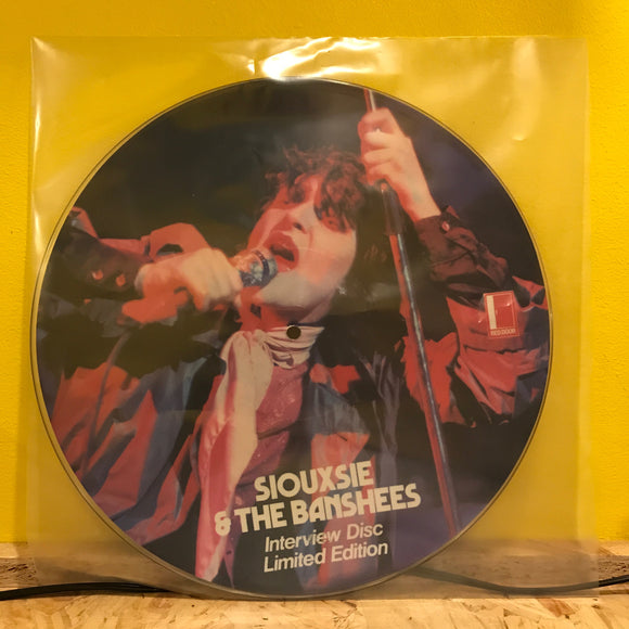 Siouxie & The Banshees - Interview - Picture Disc - new wave