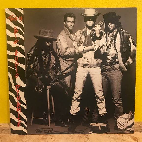 Big Audio Dynamite ‎– This Is Big Audio Dynamite - LP - electronic