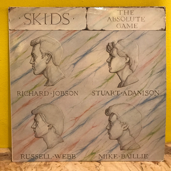 Skids ‎– The Absolute Game - LP (x2) - punk