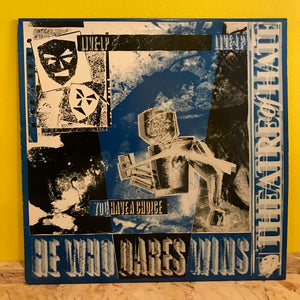 Theatre Of Hate ‎– He Who Dares Wins - LP - goth rock