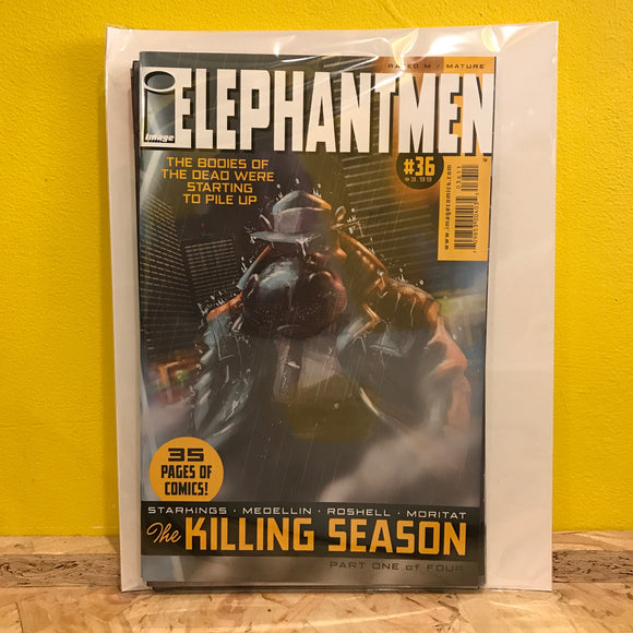 Image - Elephantmen: The Killing Season - Issues 1 to 4 (of 4) - Comics Combo - Independent