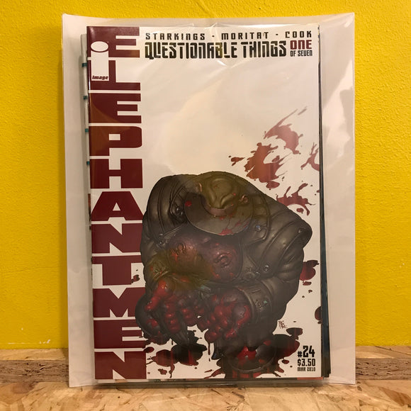 Image Comics Elephantmen: Questionable Things - Issues 1 to 7 (of 7) - Comics Combo - Independent