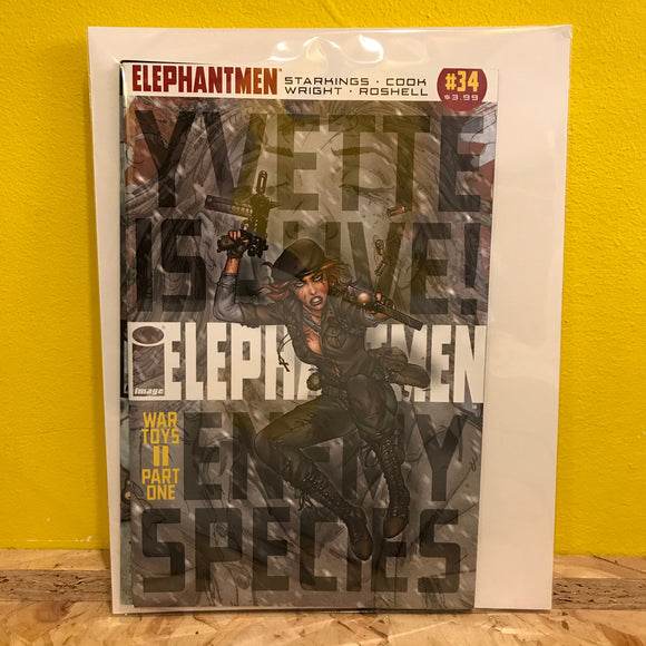 Image Comics - Elephantmen: War Toys 2 - Issues 1 & 2 - Comics Combo - Independent