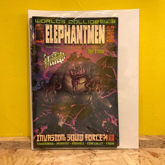 Image Comics - Elephantmen: Worlds Collide - Issues 1, 2 & 3 (of 3) - Comics Combo - Independent