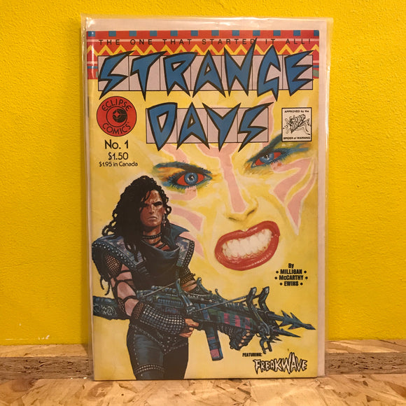 Eclipse Comics - Strange Days - Issue 1 - Independent