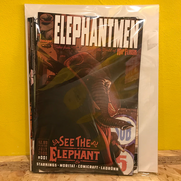 Image - Elephantmen - Issues 2 to 5 - Comics Combo - Independent