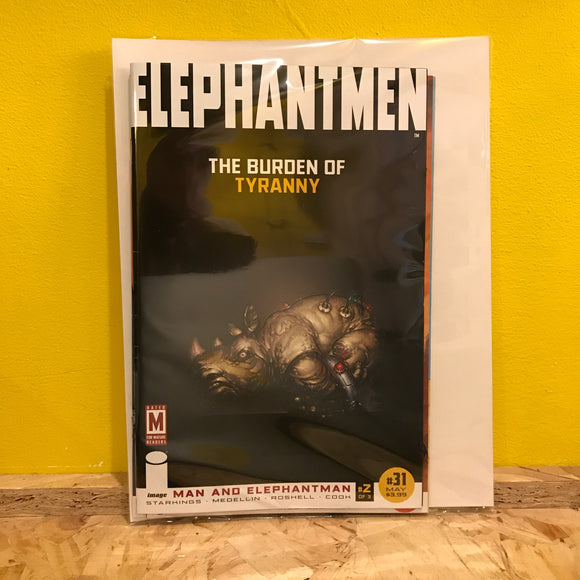 Image - Elephantmen - Issues 31 to 33 - Comics Combo - Independent