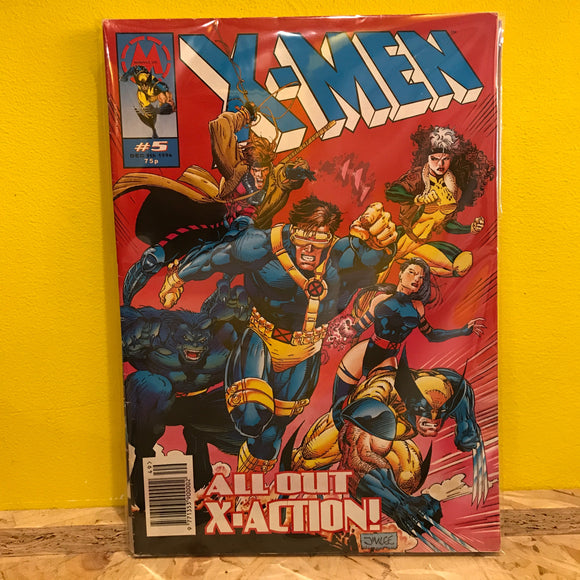 Marvel UK - X-Men - Issues 5, 6 & 7 - Comics Combo