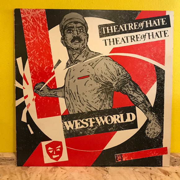 Theatre Of Hate ‎– Westworld  - LP - goth rock