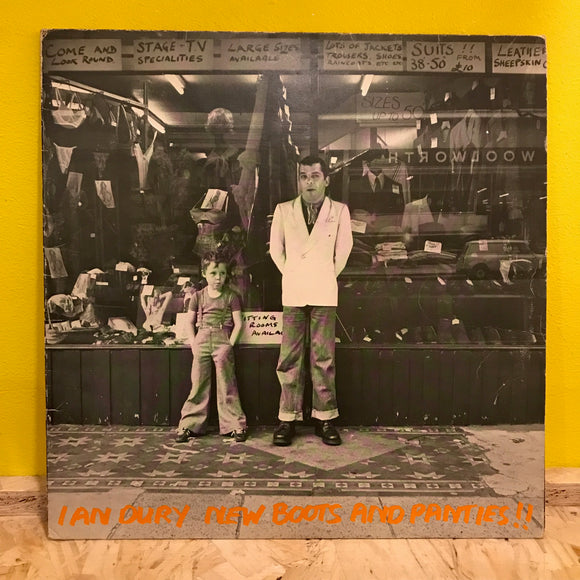 Ian Dury ‎– New Boots And Panties!! - LP - punk