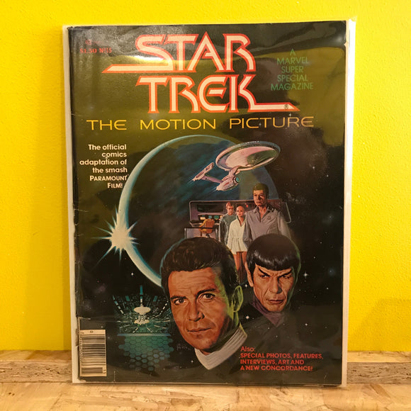 Marvel Super Special - Star Trek: The Motion Picture - magazine