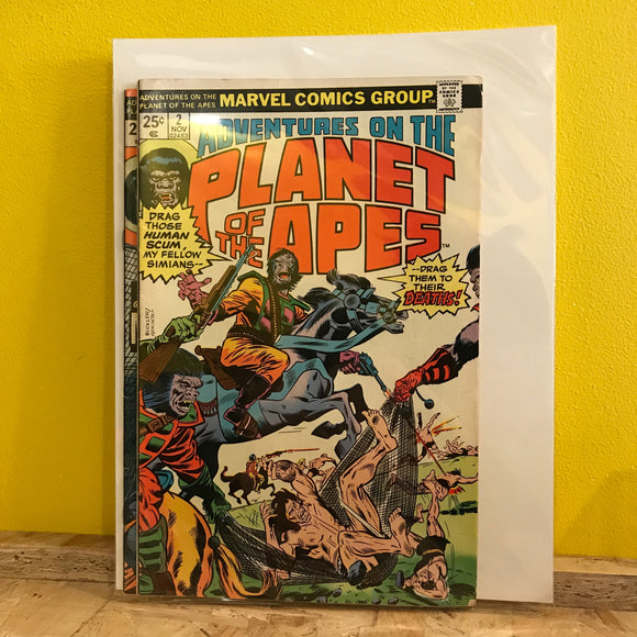 Marvel - Adventures on The Planet of the Apes - comic