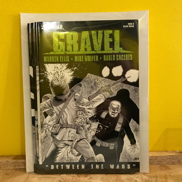 Avatar - Gravel: Between The Wars - Independent - comic combo