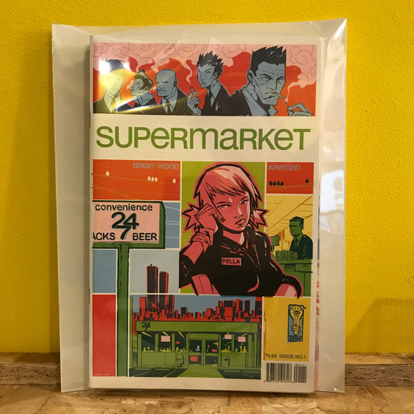 IDW - Supermarket (Full Run) - Independent - comic combo