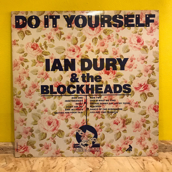 Ian Dury & the Blockheads - Do It Yourself - LP - punk