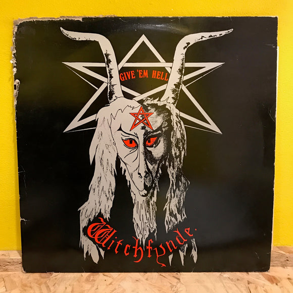 Witchfynde - Give 'Em Hell - LP - heavy metal