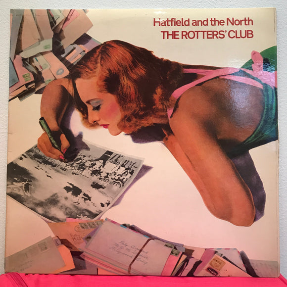 Hatfield & the North - The Rotters' Club - LP - jazz rock