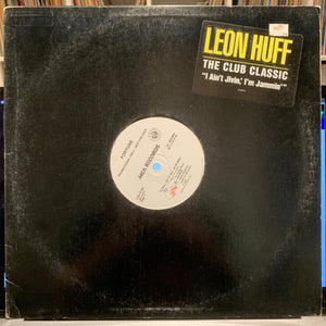 "Leon Huff - I Ain't Jivin I'm Jammin - 12""single - Rock"