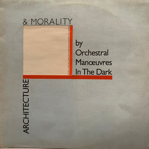 Orchestral Manoeuvers In The Dark - Architecture & Morality - LP - synth pop
