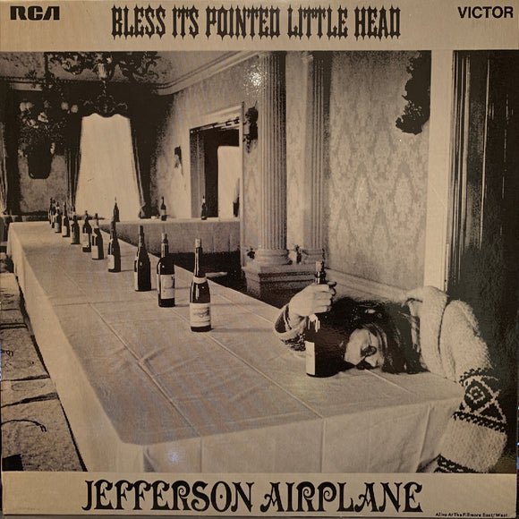 Jefferson Airplane - Bless It's Pointed Little Head - LP - rock