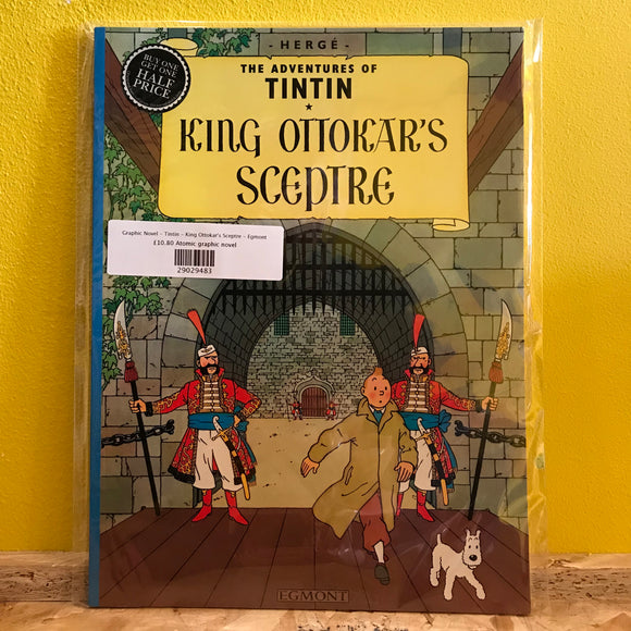 Graphic Novel - Tintin - King Ottokar's Sceptre - Mammoth
