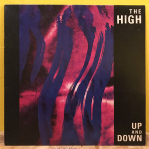 "The High - Take Your Time - 12"" single - indie"