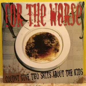For The Waste - Coudnt Give Two Shits About the Kids - LP - hardcore punk