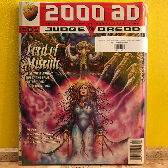 2000AD_eal - comics combo - issues 995/996/997/998/999/1000 - 2000AD
