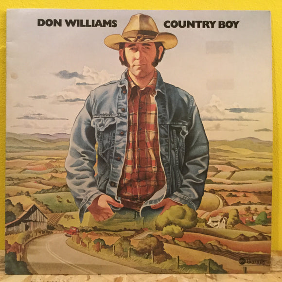 Don Williams - Country Boy - LP - Country