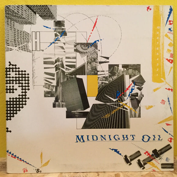 Midnight Oil - 10,9,8,7,6,5,4,3,2,1 - LP - alt rock