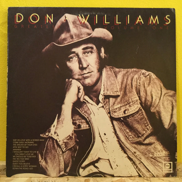 Don Williams - Greatest Hits v 1 - LP - Country
