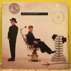 "Pet Shop Boys - Left To My Own Devices - Synth Pop - 12""single"