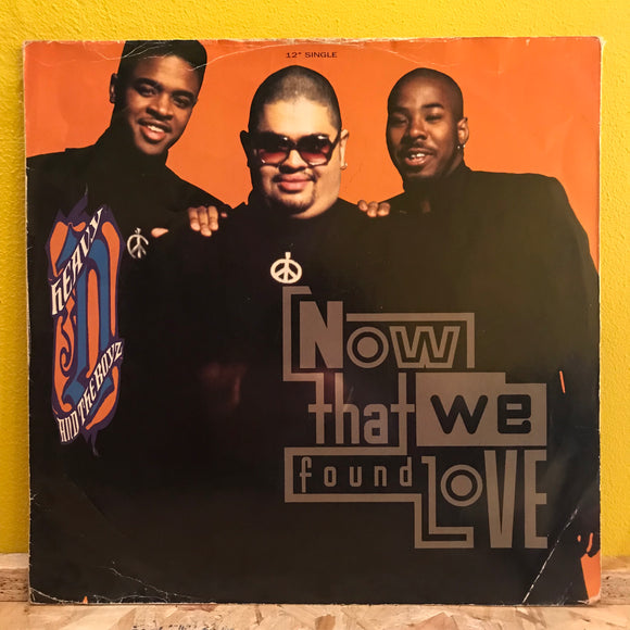 Heavy D & The Boyz ‎– Now That We Found Love - 12