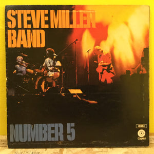 Steve Miller Band - Number 5 - Blues Rock - LP