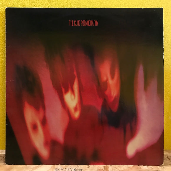 The Cure - Pornography - LP - New Wave
