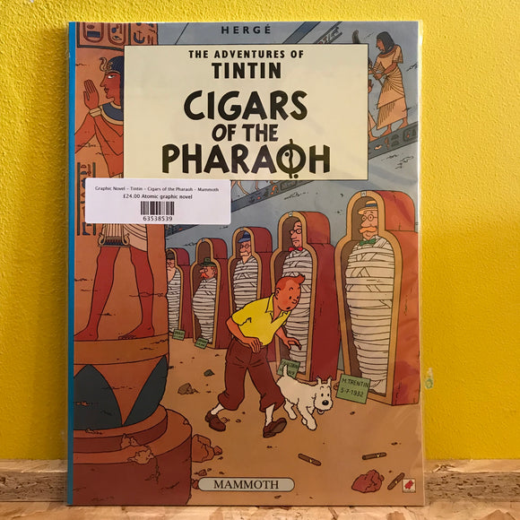 Graphic Novel - Tintin - Cigars of the Pharaoh - Mammoth